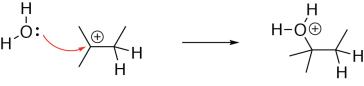 Alkene Hydration Mechanism Step 2