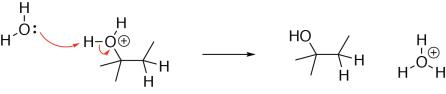 Alkene Hydration Mechanism Step 3