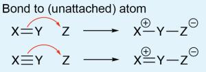 Arrow Bond to Unattached Atom