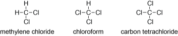 Common Alkyl Halides