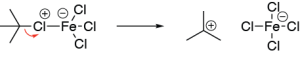 Friedel-Crafts Alkylation Mechanism - Step 2