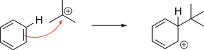 Friedel-Crafts Alkylation Mechanism - Step 3
