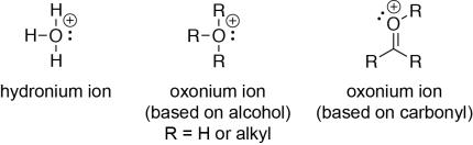 Oxonium Ions