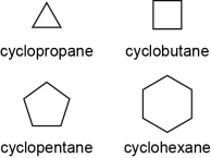 Unsubstituted Cycloalkanes