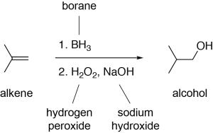 Hydroboration Oxidation Reaction Example