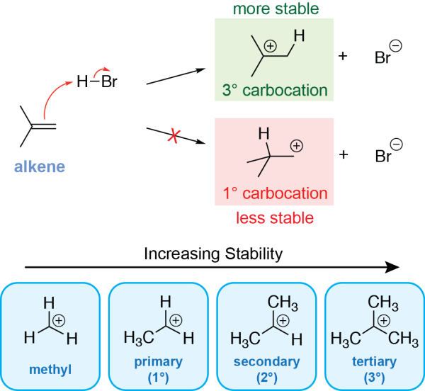 Alkene Hydrohalogenation Mechanism Step 1